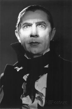 Dracula Movie (Bela Lugosi) Poster Print - Poster Print, PDecorate your home or office with high quality posters. Dracula Movie (Bela Lugosi) Poster Print - is that perfect piece that matches your style, interests, and budget. Graf Dracula, Vampire Dracula, Dracula Makeup, Vampire Pics, Scary Movies, Old Movies, Classic Hollywood, Old Hollywood, Lugosi Dracula