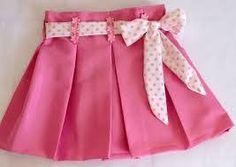 Resultado de imagen para como fazer saia e blusa infantil