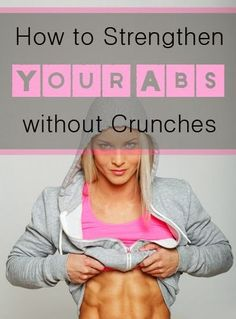 How to Strengthen Abs Without Crunches | Medi Shortly