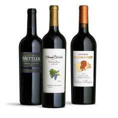 "From ""Top 9 Wines to Buy This Year"": • Chateau Ste. Michelle 2013 Canoe Ridge Estate Cabernet Sauvignon (Horse Heaven Hills; $28) • Katherine Goldschmidt 2013 Crazy Creek Cabernet Sauvignon (Alexander Valley; $22) • Mettler Family 2013 Estate Grown Cabernet Sauvignon (Lodi; $25)"