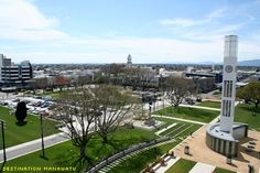 Palmerston North is the main city of the Manawatu-Wanganui region of the North Island of New Zealand. South Pacific, Pacific Ocean, New Zealand Cities, State Of Arizona, Places Ive Been, Around The Worlds, Island, Mansions, New Zealand