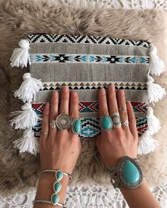 Beautiful shooting  with @___gypsylove___  My little angel  awesome jewels  gypsy set  #hand#made#bags#collection#ethnique#indian#boho#gypsy#hippie#love#this#style#jewels#silver#bracelets#rings#mademoisellepochette#gypsylove#so#cosy#cocooningtime by mademoiselle_pochette