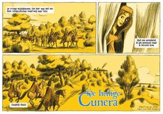 Page 1 'The sacret Cunera' by Wilbert van der Steen