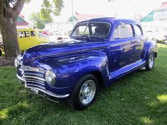 photo by splattergraphics: 1947 Plymouth