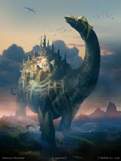 Egyesek szerint a világunk egy hatalmas őslény hátán pihen, és a világ, amely alatta terül el, nem értheti, miért állunk egy hüllő pikkelyes hátán.