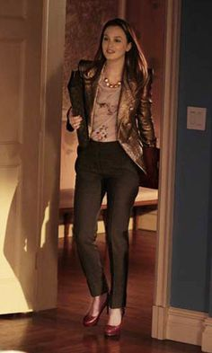 Blair Waldorf outfit, http://lifeandswing.wordpress.com/2013/09/03/spotted-blair-waldorf-on-naf-naf-ads/