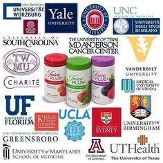 Over 30+ Double Blind Placebo and Peer-reviewed Medical Studies published in Medical Journals. NSF Certified!!