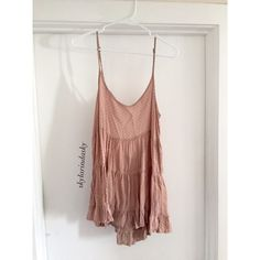 RARE Pink Polka Dot Brandy Melville Jada Dress Super cute, great condition. Rare print!! Prefer ️️  Brandy Melville Dresses