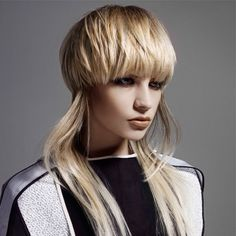 Stylish haircuts for fine hair, giving volume Stylish Haircuts, Haircuts For Fine Hair, Straight Hairstyles, Creative Hairstyles, Cool Hairstyles, Blonde Hairstyles, Disconnected Haircut, Mullet Haircut, Hair Trends