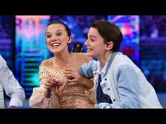 Millie Bobby Brown and Noah Schnapp Funny Moments - YouTube