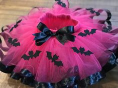 Batgirl/ vampirina Inspired Tutu