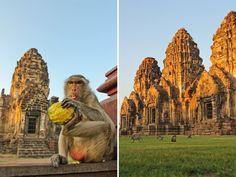 Prang Sam Yot, Lopburi, Thailand