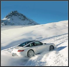 911's are perfectly suited for driving in inclement weather- see!