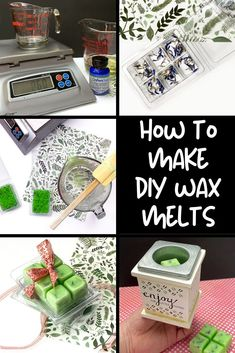 Easy DIY wax melts recipe to scent your home this spring. Learn how to craft DIY wax melts with beeswax in just 30-minutes or less. Plus discover more DIY ideas for scenting your home with your favorite designer fragrance oils or essential oil blends. These easy DIY wax melts are are made without soy wax and is the perfect DIY craft project idea for soap makers. You'll love the scent of ruby cassis, ripe pineapple, sweet rose blossoms and dewy fresh air in this fragrance! #waxmelts #easydiy