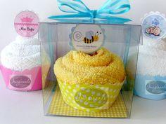 10 Recuerdos Cupcake Toalla Boda Baby Shower Bautizo Xv Años cakepins.com