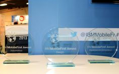 Village IBM #Mobilefirst : remise des IBM Mobile first Awards selon 3 catégories : l'innovation, le design et l'expérience utilisateur