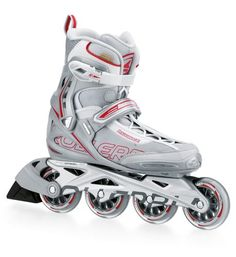 Rollerblade Spark Womens Skate SilverRed Womens US 6 * Find out more about the great product at the image link. This is an Amazon Affiliate links.