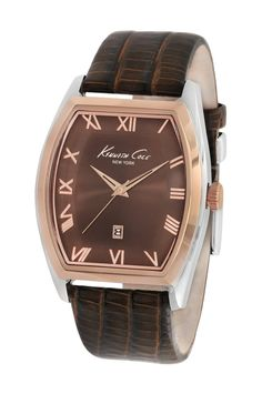 KENNETH COLE NEW YORK KC1891 CLASSIC BARREL CASE BLACK LEATHER MEN'S WATCH [KC1891] - $156.75 : Australia Best Watches at Affordable Price Store, Your Ultimate watch store online