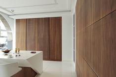portes coulissantes bois cuisine