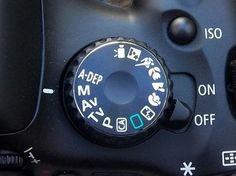 In de manuele stand heb je volledige controle over je camera. Je stelt handmatig het diafragma, sluitertijd en ISO waarde in om de foto te maken.