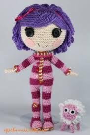 Resultado de imagem para lalaloopsy crochet doll free pattern