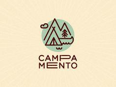 Un logotipo muy veraniego, aissss los campamentos...