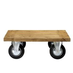 The Design Hunter Shop >> TIMBER INDUSTRIAL LOW TABLE