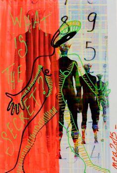 Dessin peinture sur Création numérique Pop Art Nea Borgel Cyclope Photo Posca