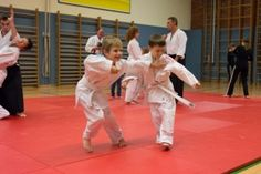 Aikido-Kindertraining in Linz, 07.11.2014