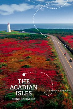 The Acadian Joyride Road Trip stop #5. THE ACADIAN ISLES | If you're looking for the road less travelled, you're on the right path. Windswept beaches, a heritage lighthouse and nature paths beckon to be explored.