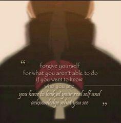 Itachi Uchiha. He's my favourite Naruto  character. He taught me so much. ♥