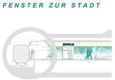 stationsdesign u5 Competition, Mirror, Furniture, Home Decor, Windows, City, Architecture, Projects, Homemade Home Decor