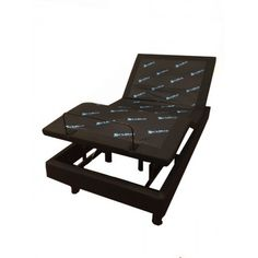 The Sit 'n Sleep Moonlight Adjustable Base features a vertical 9.5