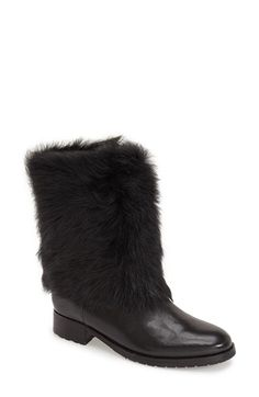 Via Spiga 'V-Kaya' Genuine Shearling Boot (Women) available at #Nordstrom