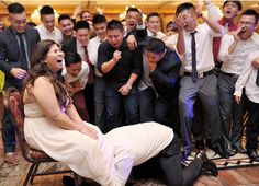 Our favourite garter toss photo, maybe ever. #wedding #love #Toronto