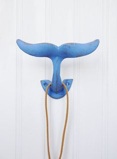 Whale Wall Hook Coastal Wall Hooks Whale by ColorfulCastAndCrew