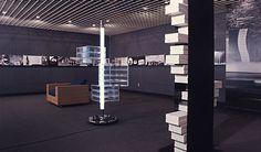 """第125回デザインギャラリー1953「倉俣史朗の造形」展 ( No. 125 Design Gallery 1953 """"A Glimpse of Kuramata's Work"""" Exhibition ), Design Gallery 1953 Matsuya Ginza, Organization: Japan Design Committee, Curator: Riki Watanabe, March 16 - 28, 1973"""
