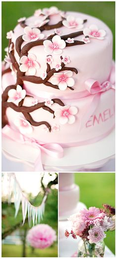 like the honoree's name on the cake.. if for a wedding shower. Call me cupcake!: Dessertbord