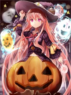 29 best halloween anime images anime halloween anime girls