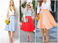 Белая рубашка + юбка-миди  Это сочетание идеально подойдёт девушкам, которые любят женственные образы. Юбка-миди добавляет особую романтику в образ