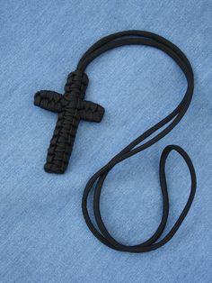 Como fazer uma cruz para brincos ou pingentes