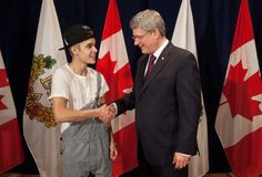 Bieber Goes B-Boy For the Prime Minister, aaPlus More Star Strangeness