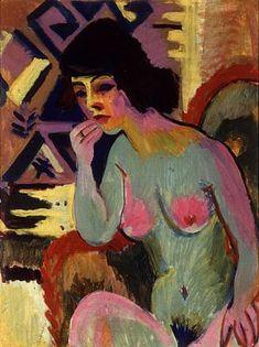Wiegers was in 1921 uit Davos teruggekeerd, waar hij Ernst Ludwig Kirchner had leren kennen. Wiegers had met Kirchner veel etsen gemaakt.