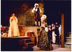 Summer opera production of 'The Beggar's Opera,' Gulbenkian Theatre, 2000