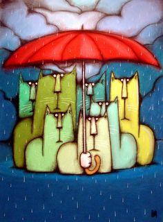 It was a Rainy Day by bigcatheads.deviantart.com on @deviantART