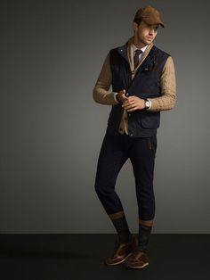 TheTrendSpotter.net Massimo Dutti Equestrian Autumn/Winter 2014 Men's Lookbook