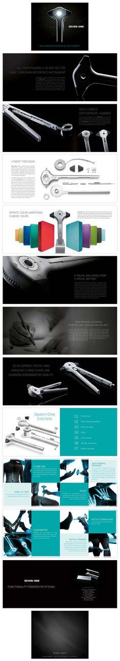 Seven One brochure design Web Design, Layout Design, Print Design, Logo Design, Graphic Design, Creative Brochure, Brochure Design, How To Make Brochure, Product Brochure