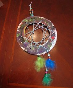 craft of the wild witch tradition | Lien : http://www.naturallyeducational.com/2011/11/dreamcatcher-craft ...