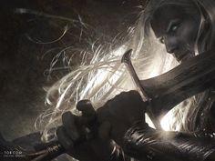 Anomander Rake by Michael Komarck