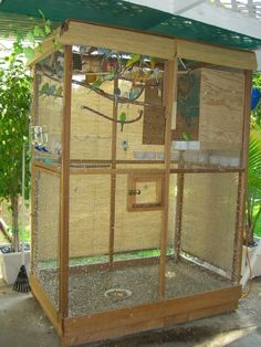 How to guide to building an aviary. - Talk Budgies Forums